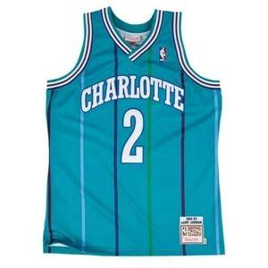 Larry Johnson Mens Charlotte Hornets Jersey Sz XL